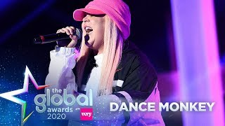 Download lagu Tones and I - 'Dance Monkey' (Live at The Global Awards 2020) | Capital