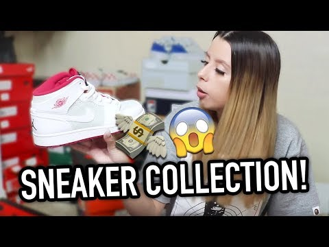 17 YEAR OLD GIRL'S $10,000 SNEAKER COLLECTION !!