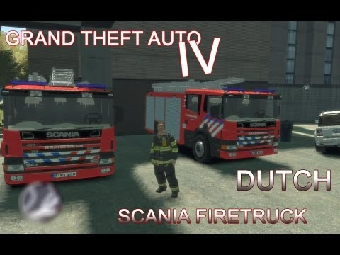 *NEW* Scania 94d Dutch firetruck