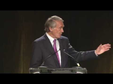 Ed Markey Speaks at the Dukakis Center 15th Anniversary Gala