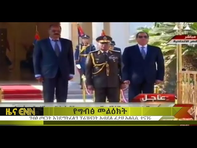 Sisi: Egypt does not want war with Sudan and Ethiopia  - ENN News