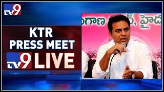 KTR Press Meet LIVE - TV9