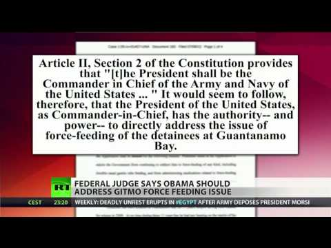 Only Obama can stop Gitmo force-feeding - court ruling