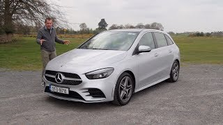 Mercedes B Class review - mature five door hatchback in AMG style