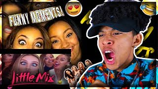 Little Mix Funny Moments REACTION (ARE THEY FUNNY?)