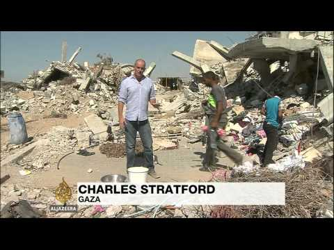 Gaza struggles to rebuild as blockade remains