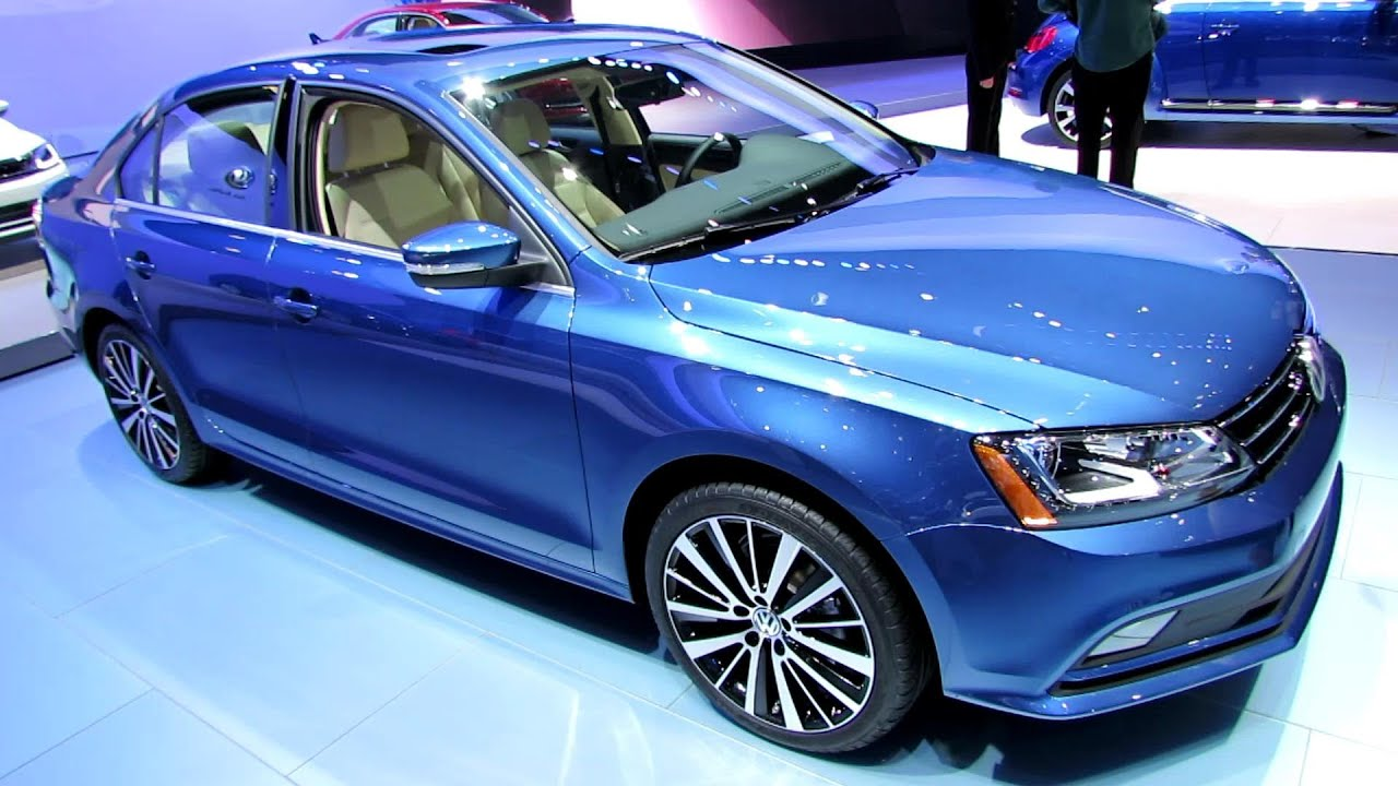 2015 Volkswagen Jetta TDI - Exterior and Interior Walkaround - 2014 New York Auto Show - YouTube