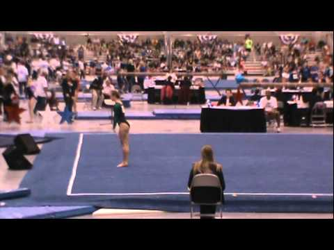 Haylee Young Floor 2012 JO Nationals.MPG