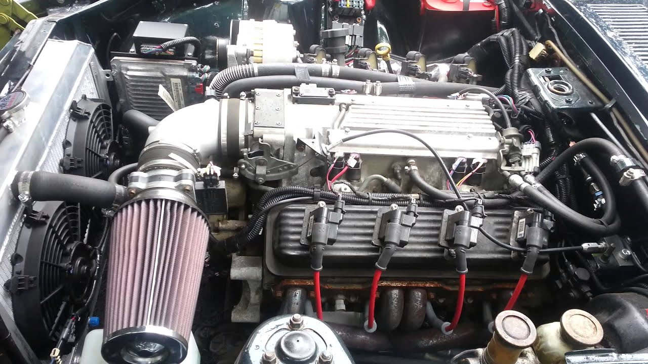 1973 Datsun 240z Chevy Lt1 T56 Youtube