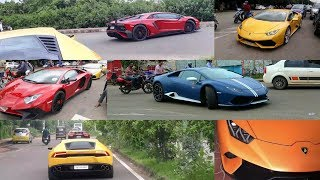 All Lamborghini in Bhubaneswar India😮 | Most Exclusive supercar compilation video