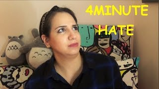 "İlk İzleyişimiz "" 4MINUTE - Hate "" MV Reaction"