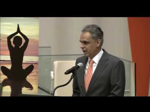 PMI- Conversation with Yoga Masters at the United Nations-June20