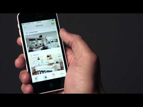 iSmartAlarm iCamera KEEP wireless security camera   Crutchfield video