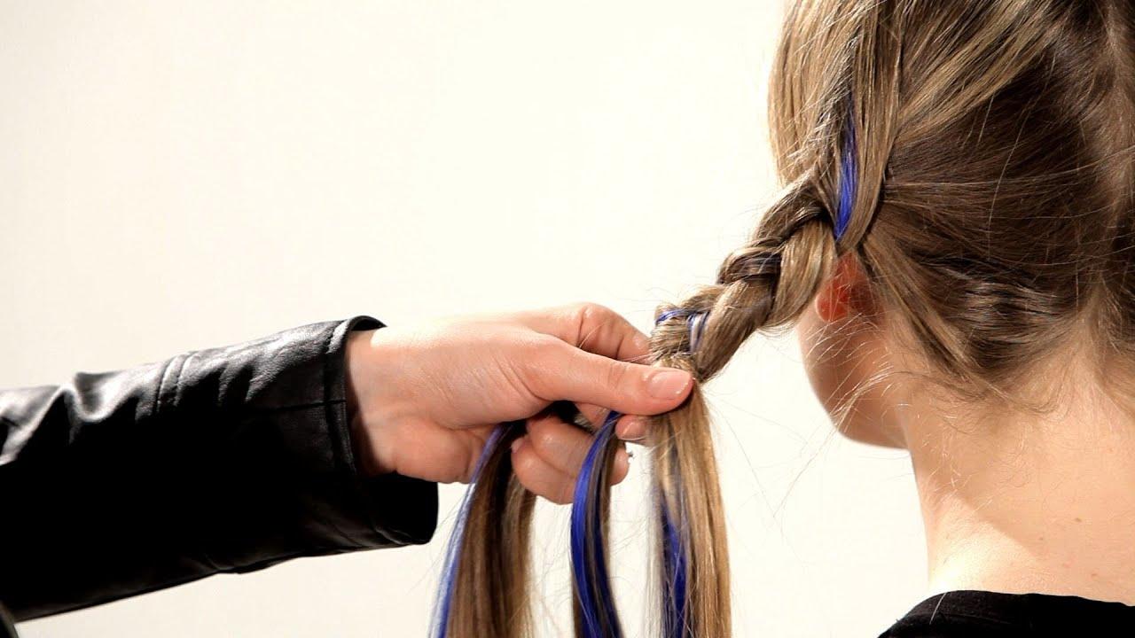 how to braid in neon hair extensions braid tutorials