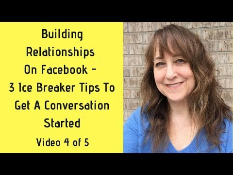 """Relationship Building On Facebook 