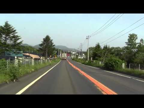 国道5号 森町~八雲町~長万部~ニセコ町 - YouTube