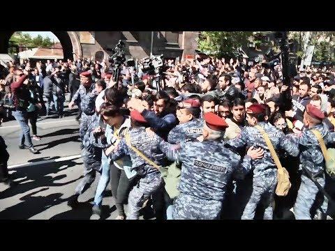 Столкновения в Ереване, блокировка Telegram в России   НОВОСТИ