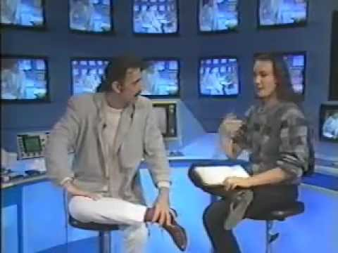 Kay Rush Interviews Frank Zappa for Italian TV 1980's