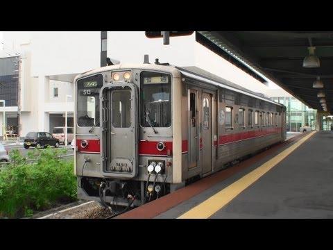[Diesel Railcar KIHA54] キハ54形気動車 早朝の稚内駅を発車 宗谷本線 2012.6.17