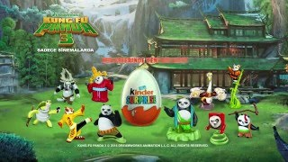 Kinder Surprise Kung Fu Panda 3