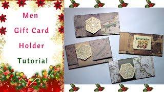 The easiest way to make Men Gift Card Holders : Tutorial