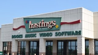 Closing of Hastings Entertainment in Fayetteville