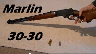 "Overview:  Marlin 336 ""30-30"" Lever Action Rifle + Ammo Explanation + Shooting Range"