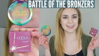Benefit HOOLA vs Physicians Formula BUTTER BRONZER | Review & Demo