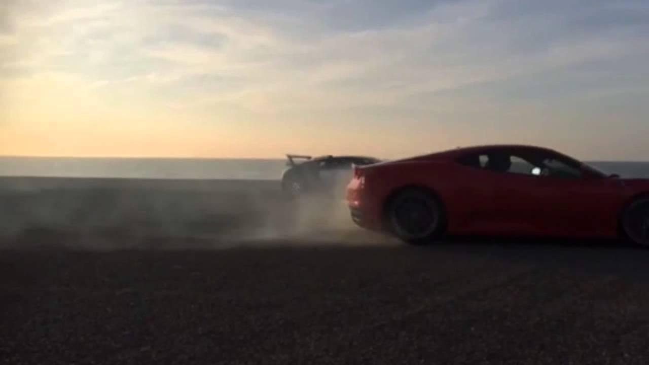Ferrari F430 Drifting Around