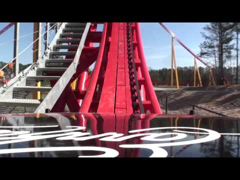 Intimidator 305 Roller Coaster HD REAL Front Seat POV Kings Dominion