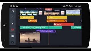 كيفية إضافة شريط تلفزي للفيديو عن طريق .kinemaster.