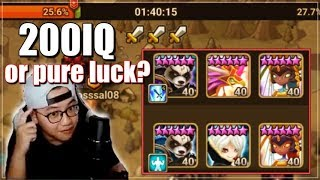 Must Win All 3 or Guild Lose! More Mi Ying Defense from GOAT strong Asia Guild | Summoners War