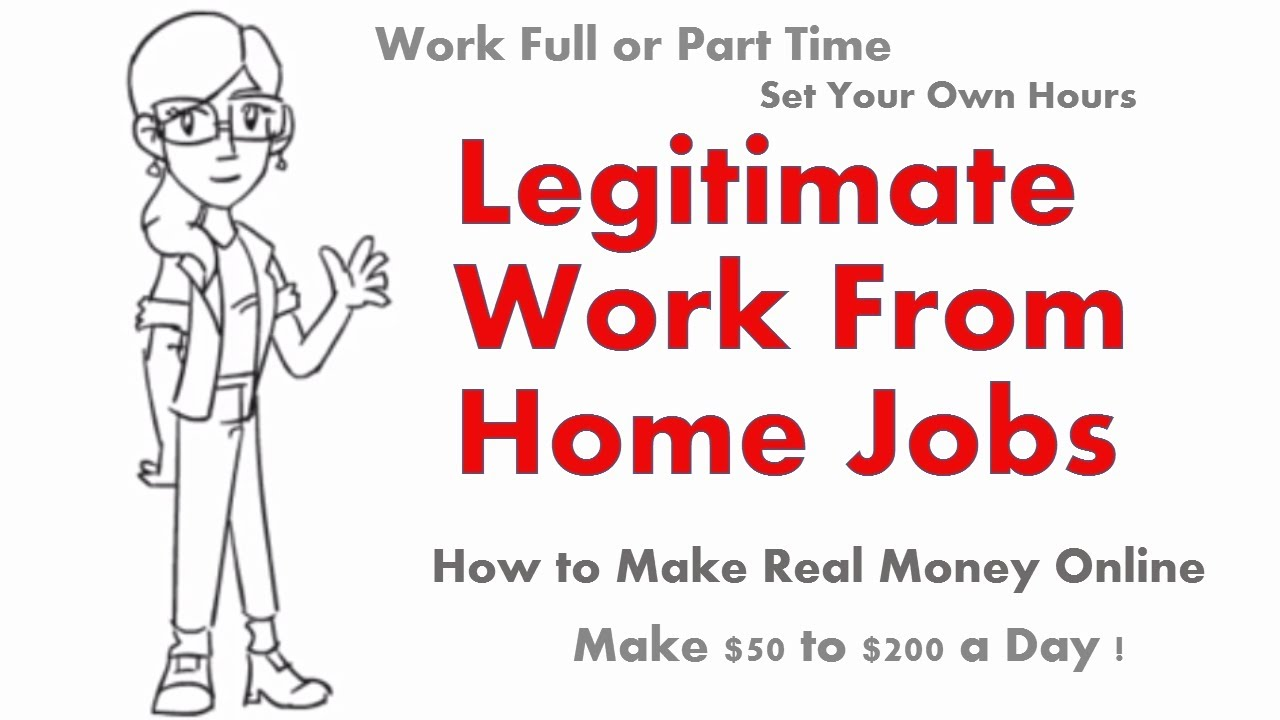 How To Find Legitimate Jobs Working From Home