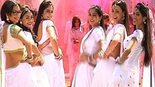 Sanaya Irani and Drashti Dhami dance performance at Colors Holi Party