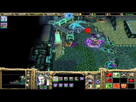 Frozen Throne Walktrouth 3 - El legado de los Malditos 7.1 - Cavernas de las redes de sombra