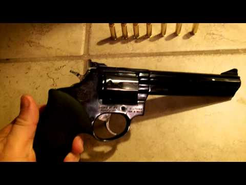 Taurus model 66 .357 magnum revolver review.