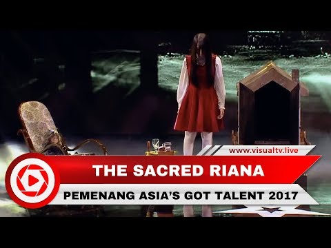Hebat! Pesulap Asal Indonesia, The Sacred Riana Menang Ajang Asia's Got Talent 2017