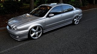Damians NEW TRUCK! Jaguar X Type Gets Hooked Up Large! Mail Day!