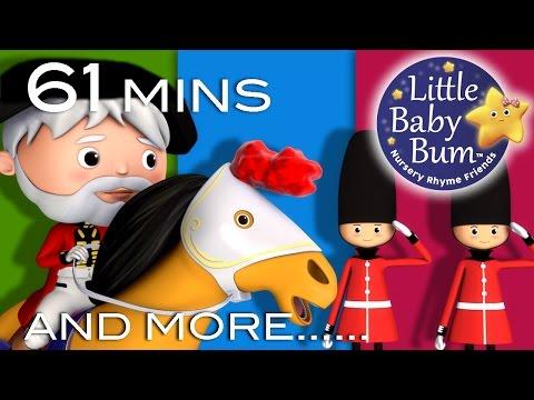 Grand Old Duke Of York | And More Nursery Rhymes | From LittleBabyBum