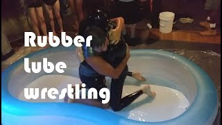 Lube wrestling at Menjos Detroit - August 26th, 2017