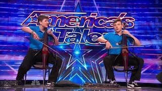 America 39 S Got Talent S09e05 Emil Dariel Brothers Perform Jimi Hendrix On Dueling Cellos