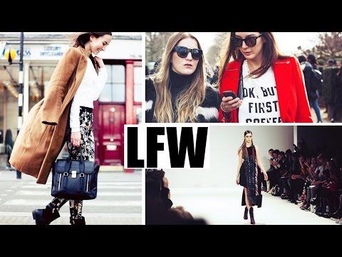 Vlog | London Fashion Week den 4.