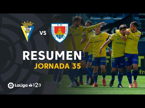 Resumen de Cádiz CF vs CD Numancia (2-1)
