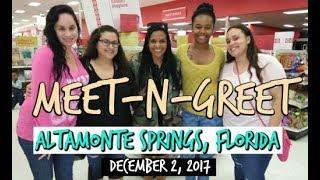 MEET-N-GREET ~ FLORIDA 12/2/17