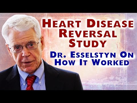 Caldwell Esselstyn MD - Reverse Heart Disease Study