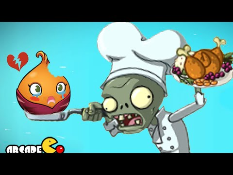 Plants Vs Zombies 2: Thanksgiving Holiday Event Food Fight Pinata Party Chef Zombies