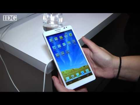 CES2013: Huawei shows smartphone with monster 6.1-inch screen