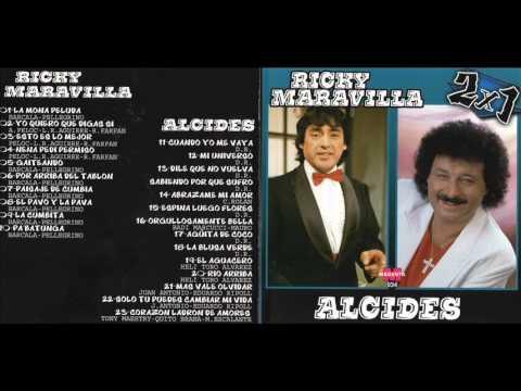 RICKY MARAVILLA & ALCIDES GRANDES EXITOS ENGANCHADO CD COMPLETO