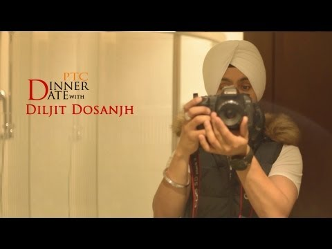 Dinner Date with Diljit Dosanjh | PTC...