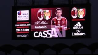 Milano 2 Maggio 2012 Milan Atalanta 2-0 momenti in Curva Sud Milano prima e durante la partita.